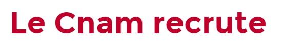 Logo le cnam recrute